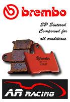 Brembo SP Sintered Rear Brake Pads to fit Honda CBF 500 / S 4-7 ABS 2004-2008