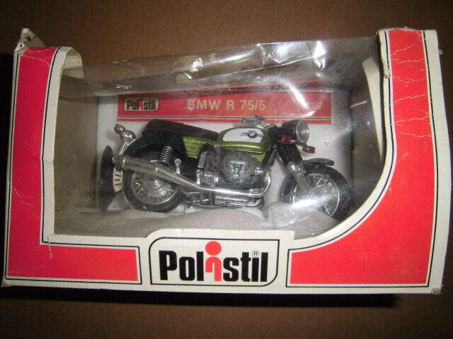 BMW R 75/5 verde metallic, Polistil in 1:15 r75
