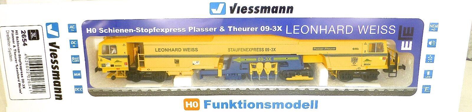 Piste de Bourrage 09-3X 3-L Son Numérique Viessmann 2654 H0 Neuf KB2 Μ