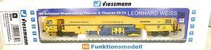 Piste-De-Bourrage-09-3X-3-L-SON-NUMERIQUE-Viessmann-2654-H0-NEUF-LA4-micro