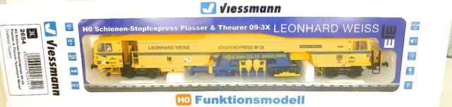Piste de Bourrage 09-3X 3-L Digital Sound Viessmann 2654 H0 Neuf La4 Μ