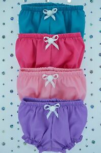 Play-n-Wear-Doll-Clothes-13-034-Little-Baby-Born-Mommy-14-034-Cabbage-Patch-4x-KNICKERS