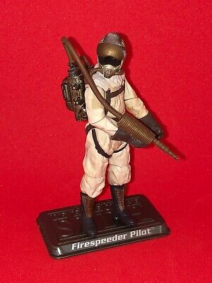 Star Wars Saga Collection 4/'/' FIRESPEEDER PILOT ROTS Hasbro New Loose