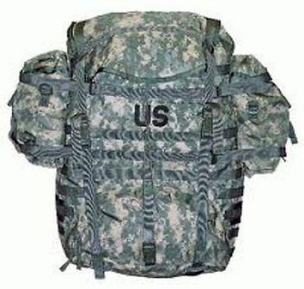 US Army MOLLE II UCP AT Digital ACU Mimetico Acupat Zaino PACK