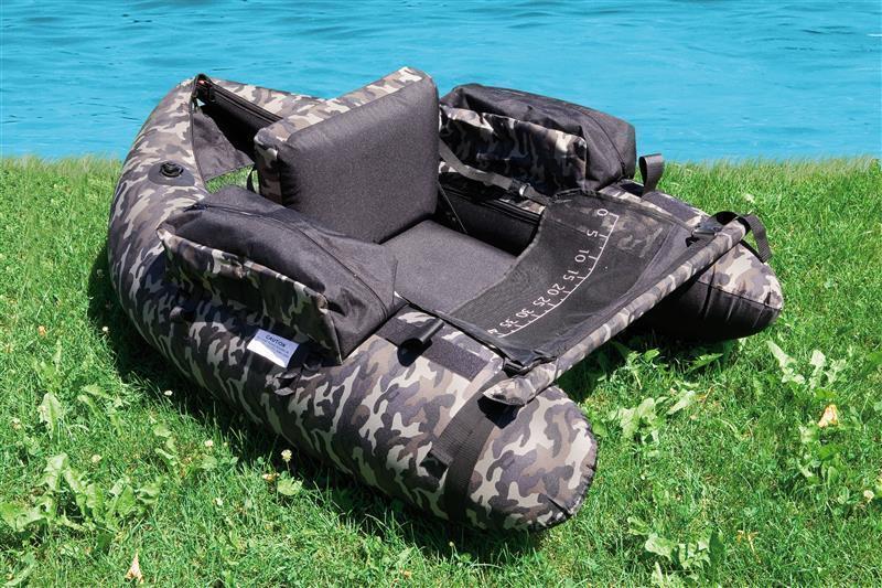 Belly Boat Camou inkl. Tasche Pumpe und Pumpe Tasche 140x130x50cm AngelStiefel Stiefel 00ddcb