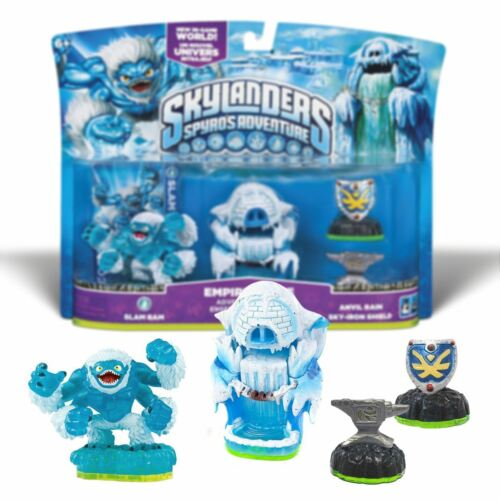 New Skylanders Spyro/'s Adventure Pack Empire Of Ice Pack Slam Bam Official