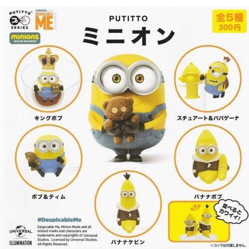 Kitan Club Putitto Minions Gashapon 5 Set Minifigur Kapsel Spielsachen Kawaii