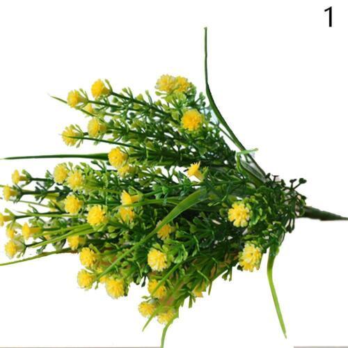 PRO HOT Simple Garden Decoration Simulation Bouquet Silk Flower Hot S Uylj