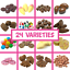 thumbnail 1 - Kingsway  Chocolate Sweets Retro Gift Candy Gummy Jelly Traditional Pick n Mix