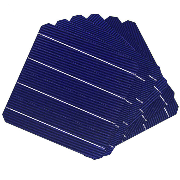 5W 156MM Solarpanel Solarzellen 6x6 Mit tabbing Draht Für DIY Solarmodul