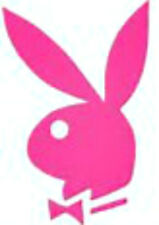 20 water slide nail art manicure decals Pink play boy bunny 3/8 inch trending