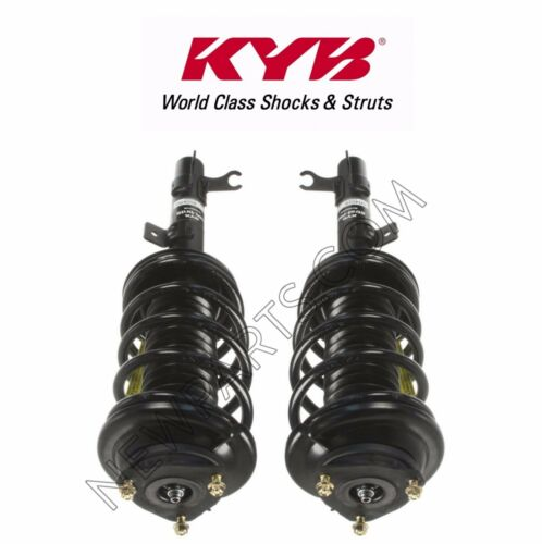 For Ford Focus 00-05 Pair Set of 2 Front Strut Coil Spring Assemblies KYB