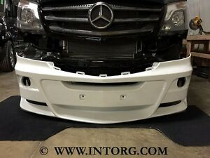 Sprinter front bumper mercedes benz 2014 2016 body kit for Mercedes benz exterior car care kit
