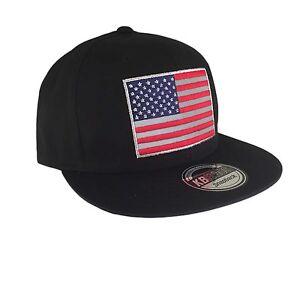 USA Flag Snapback American Flag US Veteran Vet America Baseball Cap ... 060527161ae