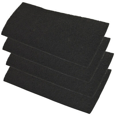 4-Pack HQRP Carbon Filter for Holmes AER1 Series Air Purifier Filters BHOR31-1