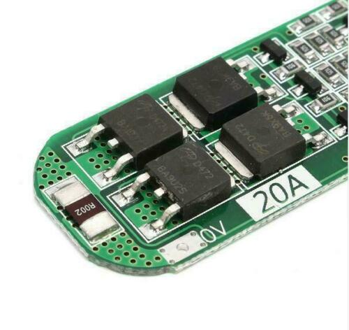 1//10x 3S 20A 12.6V Li ion Lithium Battery 18650 Charger PCB BMS Protection Board
