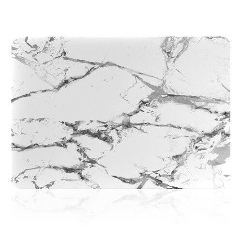 "White Marble Matte Hard Case for Macbook 12/"" with Retina Display Model A1534"