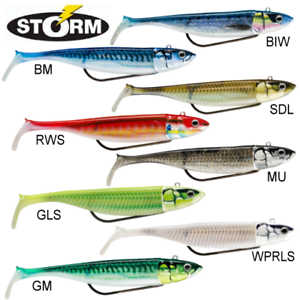 Storm-NEW-360GT-Coastal-Biscay-SHAD-Weedless-Fishing-Bass-Lure