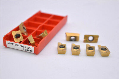 HRC65° APMT1604PDER M Carbide Inserts 25R0.8 Indexable Inserts for BAP 400R 10P