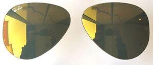 ray ban specchio oro