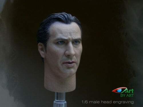 """BY-ART 1//6 Scale Nicolas Cage Head Sculpt Model Toy For 12/"""" Male Figure Body New"""