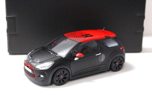 1:18 NOREV CITROEN ds3 RACING Loeb edition Black//Red New in Premium-MODELCARS