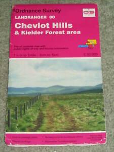 OS-Ordnance-Survey-Landranger-Map-Sheet-80-Cheviot-Hills-amp-Kielder-Forest-area