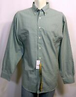 Brooks Brothers 346, L/s Casual Shirt, Green Grid Check,