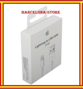 Apple USB Lightning datos cargador de plomo cable iPhone 5/5s/c/6/plus iPad
