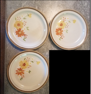 Image is loading Andre-Ponche-Designer-Collection-215-Autumn-Glory-Bread- & Andre Ponche Designer Collection 215 Autumn Glory Bread Plates Set ...