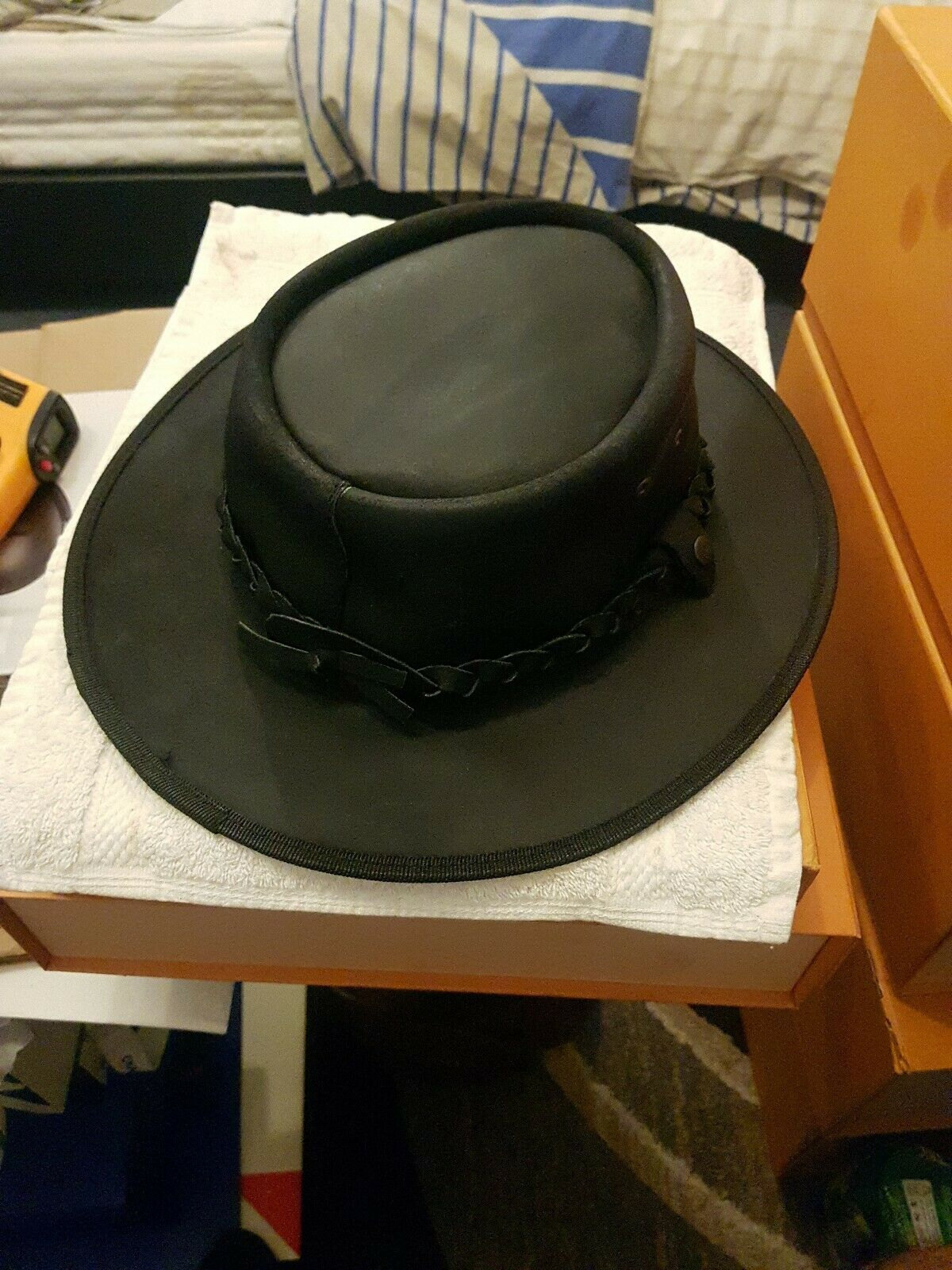 The original and simply the best hat .Melbourne Australia. Full Leather
