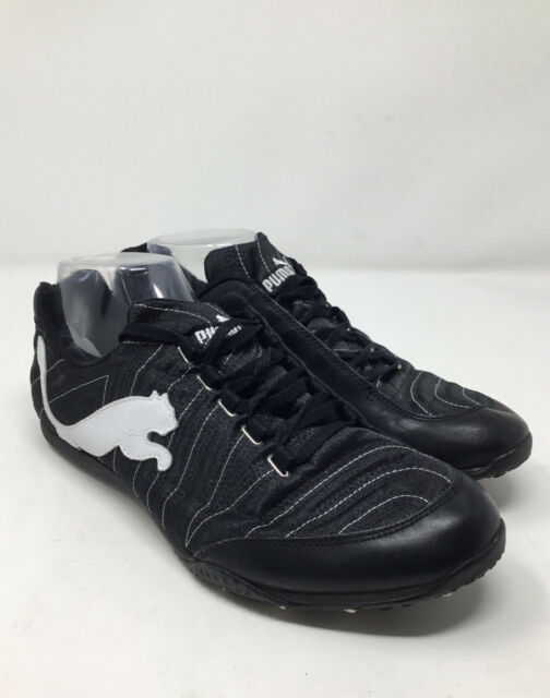 Womens PUMA Lena Black White Athletic Running Shoes Sneakers Size 9.5