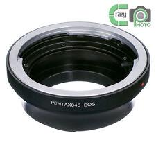 Pentax 645 PK645 Lens to Canon EF Mount Adapter 80D 750D 7D II 5DS 5DIII 1100D