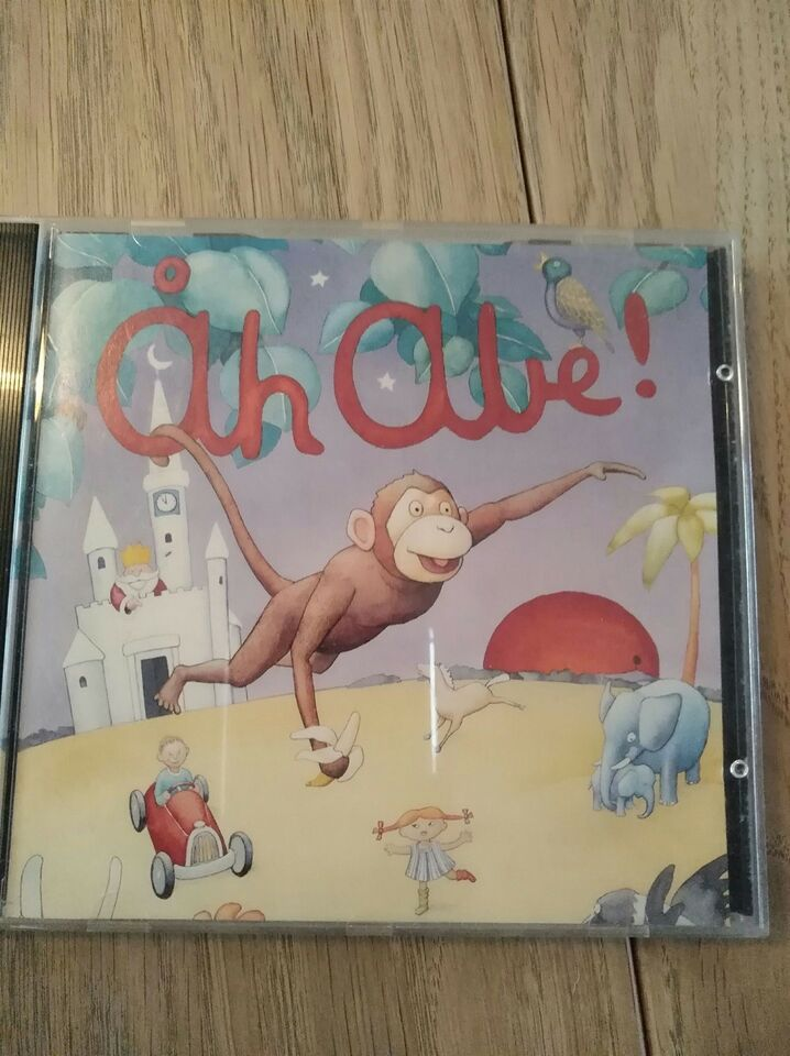 Blandet: Åh Abe, børne-CD