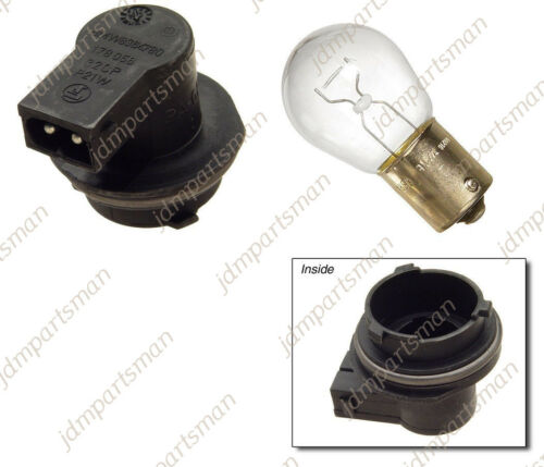 Light bulb 1156 BMW E39 525i 528i 530i Sedan Bulb Socket for Third Brake Light