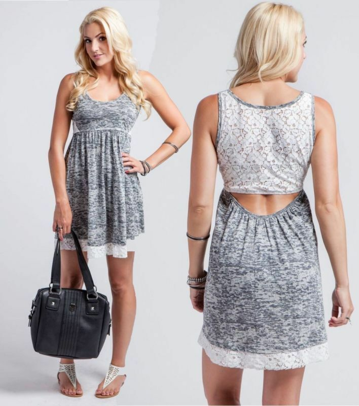 Metal Mulisha  Clouded  Ladies Dress Size S