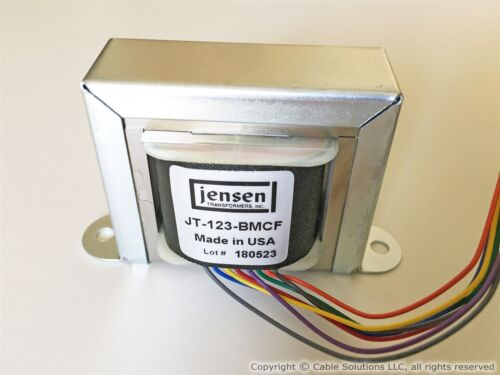 Line Output Transformer 80/% nickel laminations Jensen Transformers JT-123-BMCF