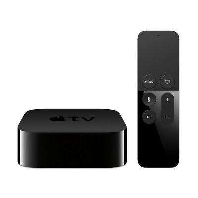 Apple TV 4. Generation 64GB A8 HDMI WLAN Schwarz Siri Remote Fernbedienung