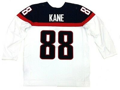 PATRICK KANE TEAM USA 2014 OLYMPICS WHITE NIKE JERSEY CHICAGO BLACKHAWKS