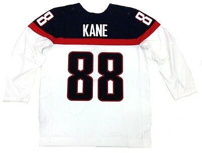 PATRICK KANE TEAM USA 2014 OLYMPICS WHITE NIKE JERSEY CHICAGO BLACKHAWKS