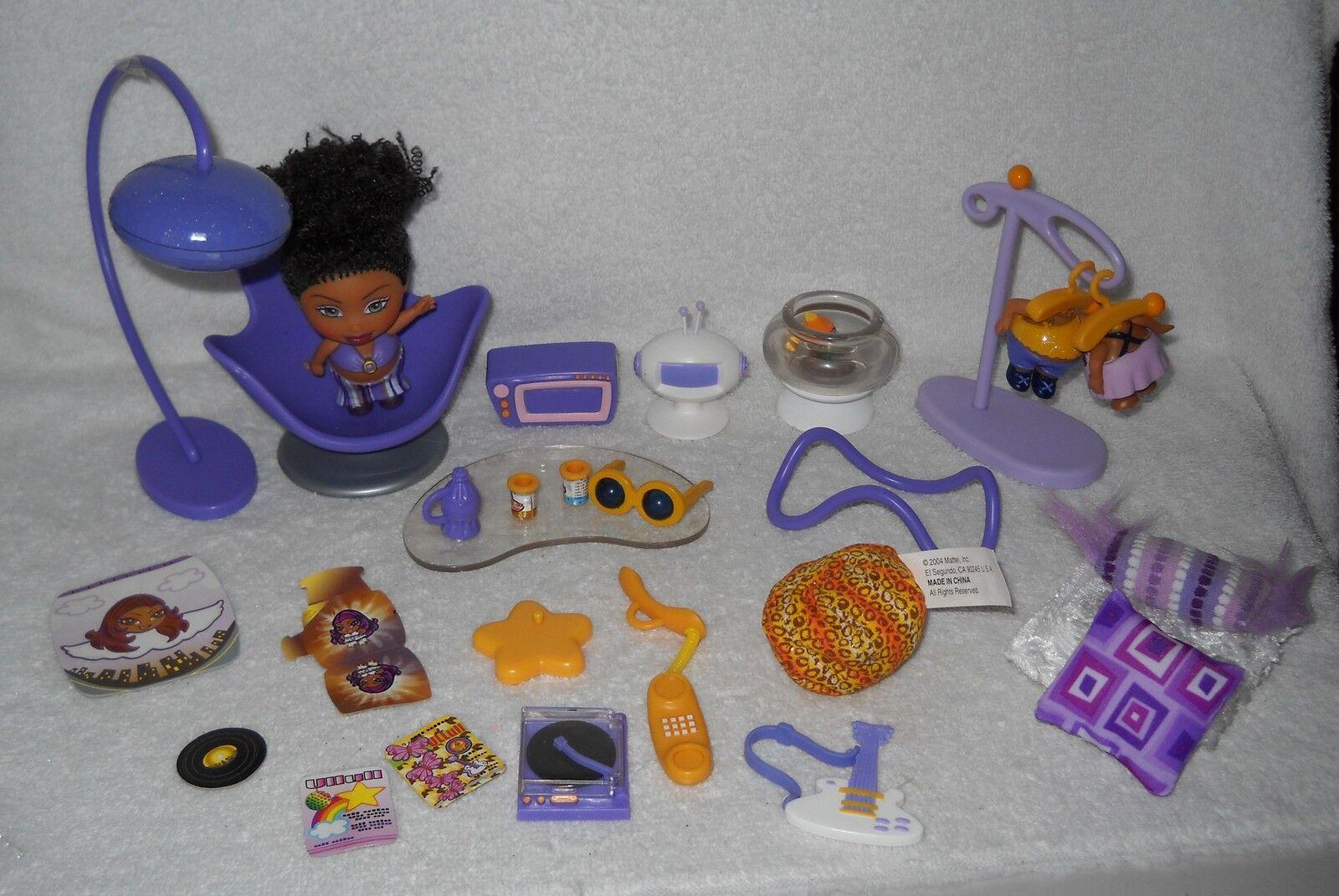 Nuevo Sin Caja raros Mattel shorties Zia Dinamita Disco Diva Muñeca Y Accesorios
