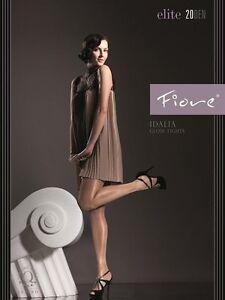 Fashionable-Tights-Fiore-034-IDALIA-034-Satin-Gloss-Effect-20-Denier