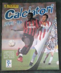 R-RO-ALBUM-CALCIATORI-PANINI-1995-96-VUOTO-DA-EDICOLA-CON-INSERTI-N-51