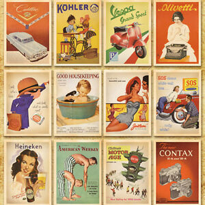 14cm-x-10cm-Postcards-Sets-32pcs-European-American-Photo-Vintage-Postcard-Sets