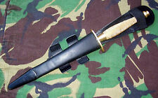 British Army Fairbairn Sykes Commando Dagger  /  FS Fighting Knife 2nd Pattern