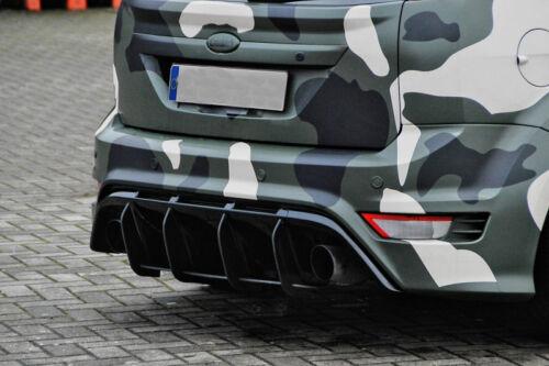 Ford Focus Pare-Chocs Arrière Diffuseur partie médiane Cantonnière Jupe Bordure Extension eleron
