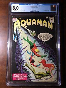 Aquaman-11-1963-1st-Mera-CGC-8-0-Key-White-Pages