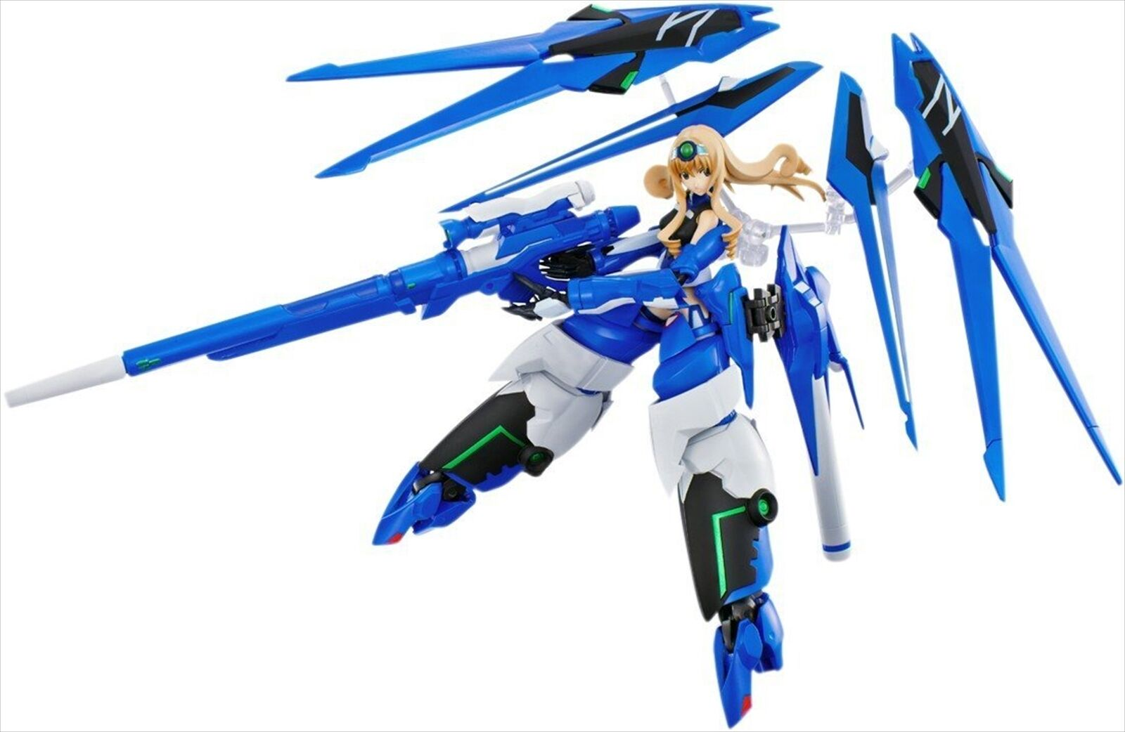 Bandai Armor Girls Project Infinite Stratos bluee Tears x Cecilia Alcott Figure