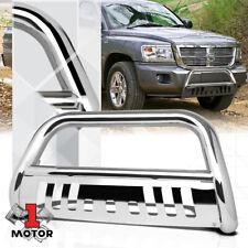 Steel Face Bar Front Bumper For 1991-1996 Dodge Dakota Base Model Chrome