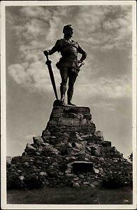 Vangsnes-Norwegen-Norge-Sogn-og-Fjordane-AK-1930-Statue-Frithjof-Fridtjof-Unger